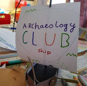 Archaeology Club – summer holiday sessions for children.