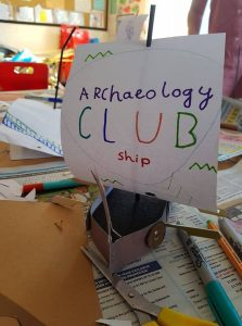 Summer Archaeology Club
