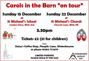 Carols on Tour!