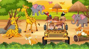 Family Crafts: Safari Time