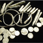 Image: the Watlington Hoard, found in Oxfordshire